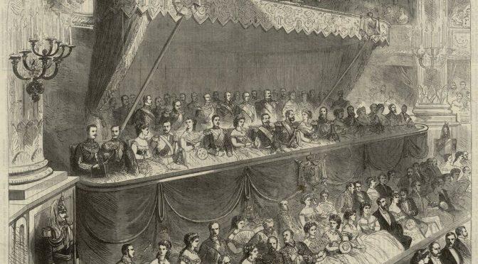 L'empereur en représentation : décor et chorégraphie des soirées impériales au théâtre