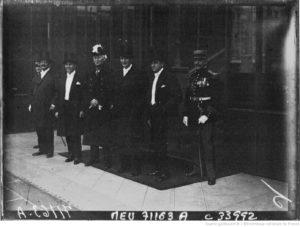 Réception à l'Elysée de Ramón Caballero de Bedoya