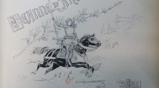 Découvrez les Jeanne d'Arc de papier du XIXe siècle