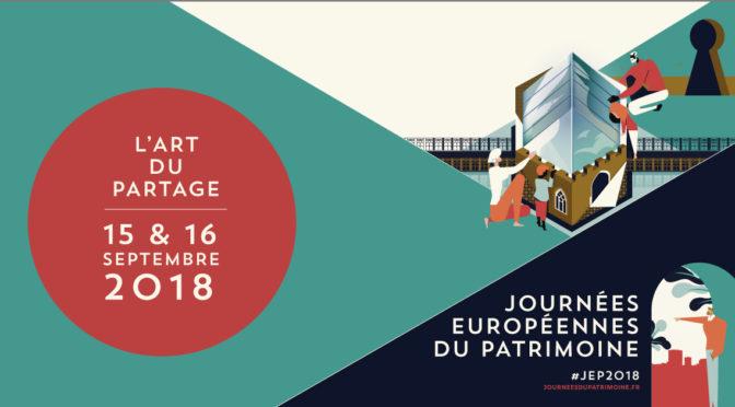Journées européennes du Patrimoine 2018 à la BnF (15-16 sept. 2018)  – Partageons les savoirs