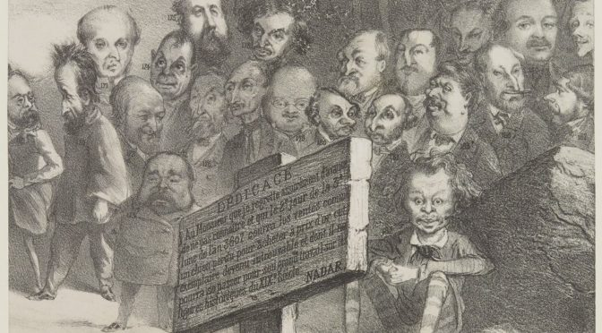 Carjat et Nadar: quand la caricature était plus fidèle que la photographie…?