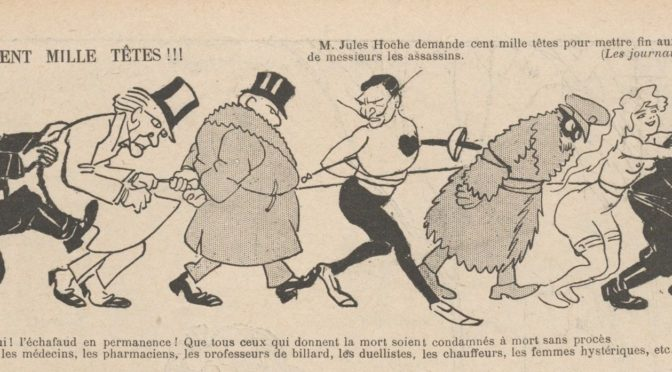 COLLOQUE : Les complaintes criminelles en France après 1870 : inventaire, problématisation, valorisation d'un corpus méconnu (2/3 avril 2019, Archives nationales, BnF)