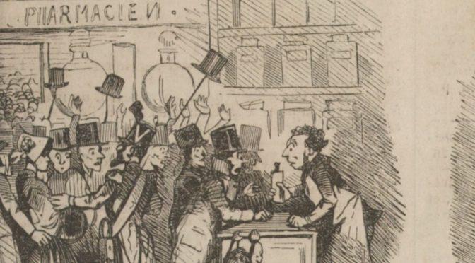 L'humour face aux épidémies – Partie I. Le Charivari, le choléra et la grippe entre 1832 et 1870