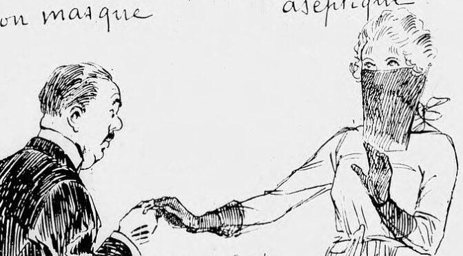 Vaincre les épidémies entre 1900 et 1929  :  isolement, masques, sérums ou vaccins –  Partie II. Masque ou voilette ?