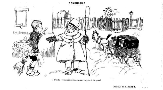 Automédone, cocherette ou cochonnette, un accès de fièvre satirique et machiste devant les premières femmes cochers ? (partie I)